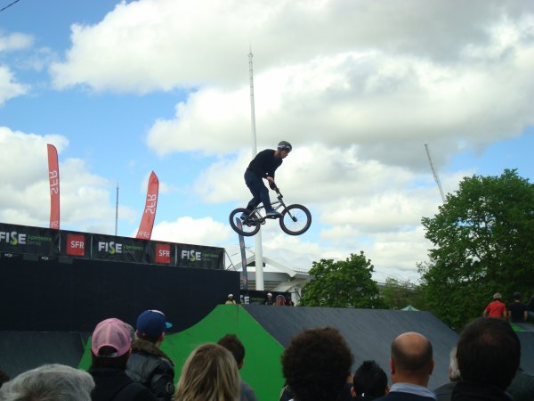 Vido &amp; Photo du &quot;Fise Xperience Series&quot; BMX  Reims